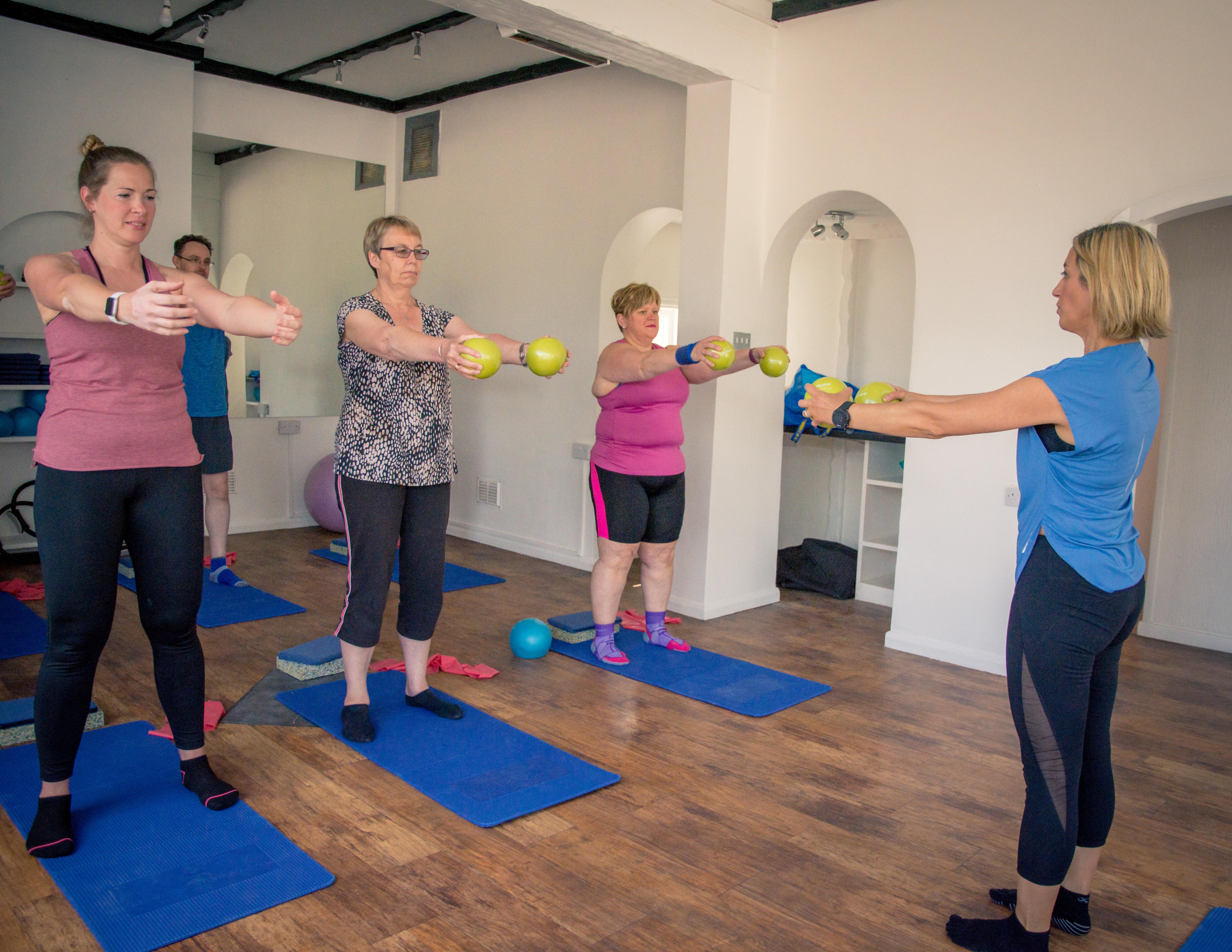 Gentle Pilates in Bedford