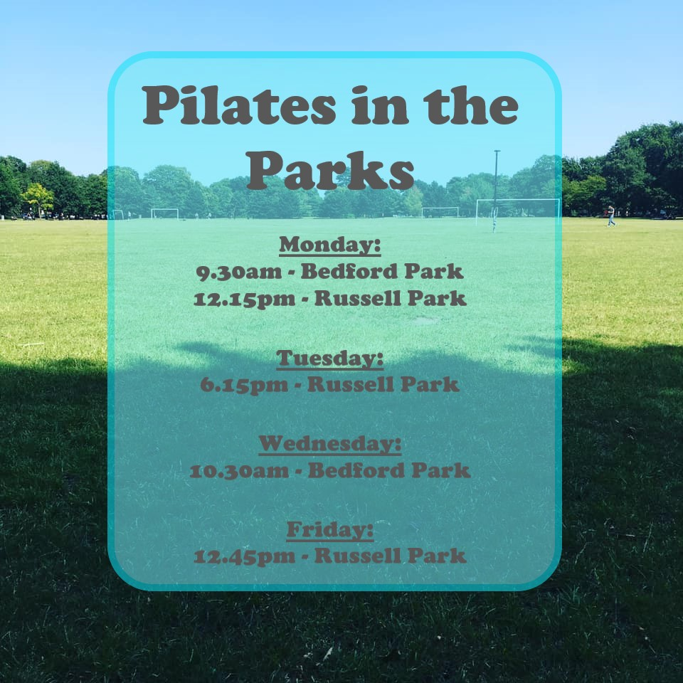 Pilates in the Parks